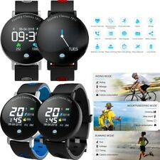 Men Boys Sport Smart Watch Heart Rate Blood Pressure Monitor for Samsung Huawei