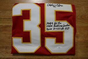 CHRISTIAN OKOYE KC Chiefs RB Signed Jersey with 3-Inscriptions. JSA COA