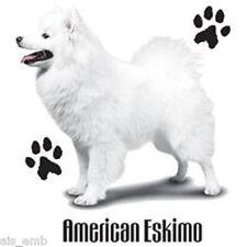 American Eskimo Dog Heat Press Transfer Print for T Shirt Tote Sweatshirt #802b