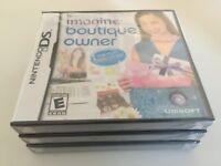 Imagine: Boutique Owner (Nintendo DS, 2009) DS NEW