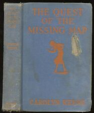 Nancy Drew: #19 The Quest of the Missing Map (A-1 or 2) HB/No DJ 1st/1st