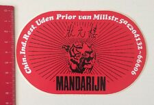 Aufkleber/Sticker: Mandarijn (12061670)