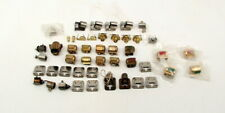 Std Ga. Parts - Lionel Prewar Misc Locomotive Headlights, Lamps and Bells Lot