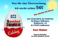 10 Witzige Einladungskarten Geburtstag Einladungen Jedes Alter 40 50 60 70