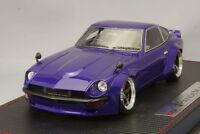 Make Up IM001B4 Idea 1/18 Pandem 240 Z Metallic Purple Limited Nissan Datsun F/S