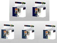 Set of 5 Ink Cartridges for PGI-525 & CLI-526 Canon Pixma MX715 MX885 MX895
