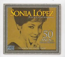Sonia Lopez 50 Anos de Historia Musical Tesoros Box set 3CD New sealed