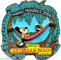 WDW Happy Holidays 2006: Caribbean Beach Resort LE 750 Pin