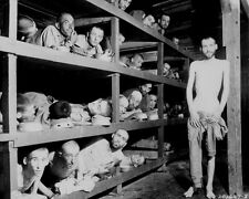 WWII Photo Buchenwald Concentration Camp Inmates  WW2 World War Two Germany