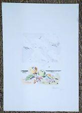 Filippo De Pisis nature bord de mer Biennale de venise Peinture Metaphysique P54