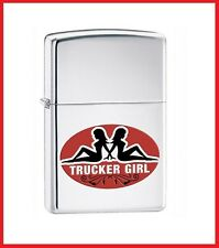 Zippo Trucker Girls Lighter, 24524 +Wick +Flints