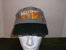 Wulfsport MX KTM Baseballkappe schwarz/grau