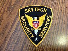 Vintage Skytech Security Services Patch, Vintage