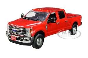 FORD F-250 CREW CAB SUPER DUTY PICKUP TRUCK RED 1/50 DIECAST FIRST GEAR 50-3419