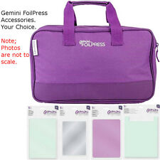 Gemini FoilPress Machine Accessories - Your Choice - by Crafter's Companion