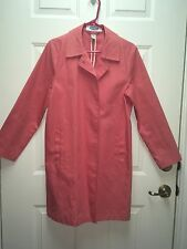 Old Navy Coral Trench Coat Size Small