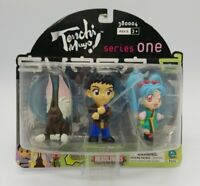 Tenchi Muyo Series One Mini Action Figures 3 Pack (Equity 2000) New in Package
