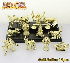 Saint Seiya Gold Zodiac Gemini Saga Twelve Constellations Figure Anime 12pcs