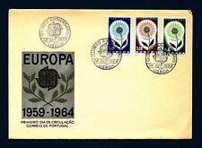 PORTUGAL - PORTOGALLO - 1964 - Europa - Fiore con 22 petali - (T)