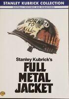 Full Metal Jacket DVD Vietnam War Matthew Modine Lee Ermey Dorian Harewood 1987