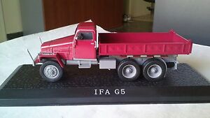 1/43 ATLAS EDITIONS IFA G 5 KIPPER TRUCK CAMION DDR ALTAYA