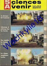 Science et avenir n°218 du 04/1965 Explosifs Chimie Alphabet Gemini Espace