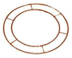 """WREATH METAL FRAME MAKE YOUR OWN 10"""" FLAT WIRE RING CHRISTMAS FLORISTRY CRAFTS"""