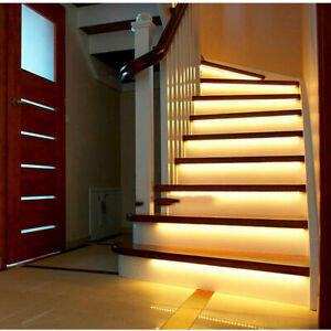 Stair LED Motion Sensor Light Strip 32 Channel controller led strip for Stairway