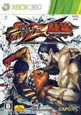 Used Xbox 360 Street Fighter  Tekken MICROSOFT JAPAN JP JAPANESE JAPONAIS IMPORT
