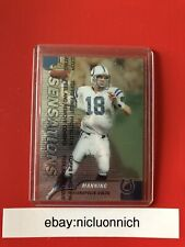 New listing PEYTON MANNING 1999 TOPPS FINEST SENSATIONS #142 100% AUTHENTIC