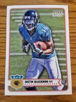 Justin Blackmon RC 2012 Topps Magic Jaguars Card #180  *790*