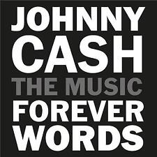JOHNNY CASH FOREVER WORDS TRIBUTE VARIOUS ARTISTS CD NEW