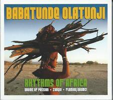 Babatunde Olatunji - Rhythms Of Africa 3CD NEW/SEALED