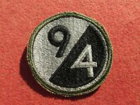 WW 2 US Army 94th Infantry Division Patch Insignia