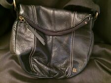 Black Leather The Sak Purse Tote/Bag 100% Donation 2 Cure K9 Cancer
