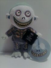 """NIGHTMARE BEFORE CHRISTMAS 11"""" PLUSH BARREL DISNEY STORE EXCL NEW W/ TAGS"""