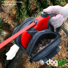 Doggo WASTE BAG HOLDER & STORAGE Bag for Medium Large Retractable Dog Leash