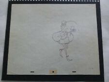 Disney'S 'Sleeping Beauty' 1959 Production Drawing Of The Lackey - Full Figure