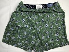 Tommy Bahama Mens Underwear Woven Boxer Small Green Floral Cotton NEW