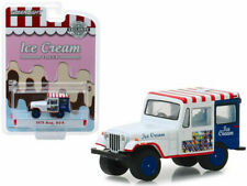 Greenlight 1:64 Hobby Exclusive 1975 Jeep Dj-5 Ice Cream Truck Diecast Car 30005