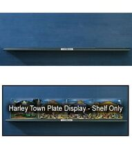 Franklin Mint Harley-Davidson Town Plate Display Shelf  D1X3826