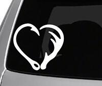 God Guns Guts Deer Decal Sticker Crosshairs Buck Antler Car Truck Window Laptop