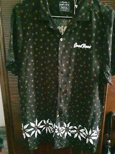 Mens Mambo Short Sleeve Shirt Goodtimes Smart Arts Apparel size XL
