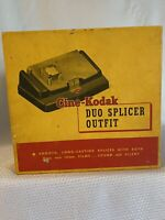 Kodak Cine Duo Splicer Outfit 8mm & 16mm Sound Or Silent
