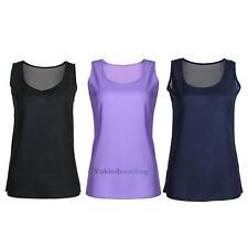 Fashion Women GYM Fitness Sports Sleeveless Blouse Vest Top T-Shirt M-XXXL