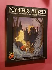 MYTHIC RUSSIA - CORE BOOK COMPLETE GAME - RPG HISTORICAL HEROQUEST ROLEPLAYING