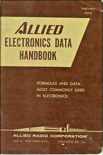 Allied Electronics Data Handbook, 1960 Manual Formulas & Data Most Commonly Used