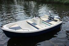 Konsolenboot,Motorboot Angelboot Inka 4,30m x 1,90m (INKA mit Steuerstand)