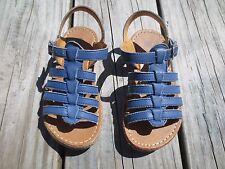 Mini Boden ~ Girls Blue Gladiator Sandals ~ Size 26 or 9 1/2