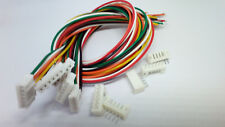 10 conjuntos de micro JST 2.0mm ph 6-Pin Macho Hembra Conector Plug con Cable 300mm